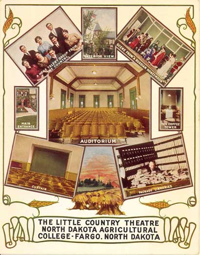 Little Country Theater postcard